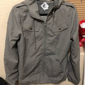 Volcom grey jacket
